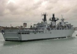 Amarinth keeps critical cooling process running aboard HMS Albion with it's N Series close coupled pumps