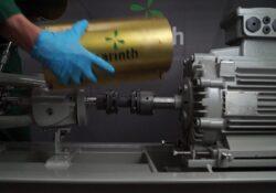 Compress & install a pump coupling