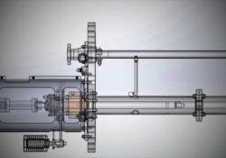 How to refurbish the line bearing flush recirculation pipework on an API-610 VS4 vertical sump pump