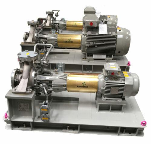 An images of a Schlumberger Pumps