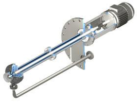 TN280-V-Series-API-610-VS4-oil-and-gas-vertical-sump-pump-isometric-view-drawing-ANSI-flange-RevA